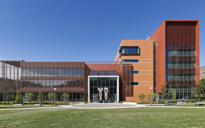 University of Illinois' Electrical and Computer Engineering Building, designed by SmithGroup, named R&D Magazine's Laboratory of the Year