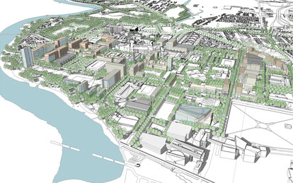 IUPUI Campus and Academic Medical Center Master Plans
