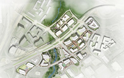 Scotts Run Master Plan SmithGroup