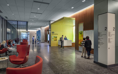 SmithGroup Sutter CPMC Van Ness Campus Hospital Admitting Lobby