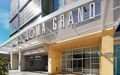 SOMA Grand Mixed-Use Exterior Lobby AI