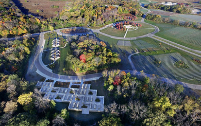 Abraham Lincoln National Cemetery Cultural Landscape Architecture Illinois SmithGroup