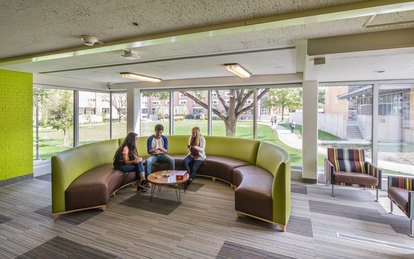 Bowling Green State University McDonald Hall Interior lounge Architecture Ohio SmithGroup