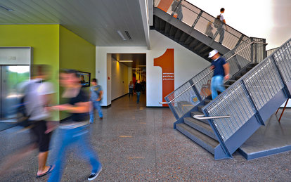 Physical Science Building Mesa Community College Higher Education Interior Architecture Mesa Arizona SmithGroup