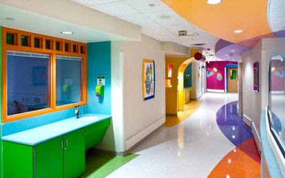 St. Jude Chili's Pediatric Care Center SmithGroup