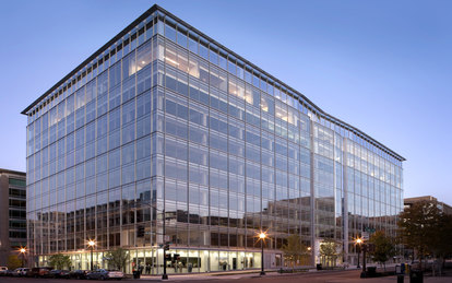 1200 19th Street Renovation Exterior Office Building Washington DC SmithGroup