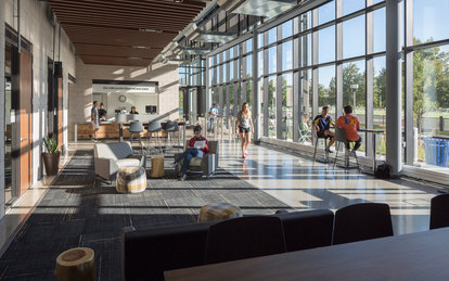University of Colorado Denver Lola Rob Salazar Wellness Center Interior Higher Education Architecture SmithGroup