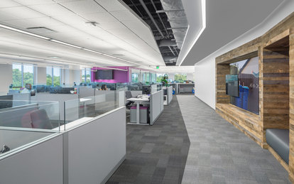 Republic Services Charlotte Office Design Interiors SmithGroup Architecture