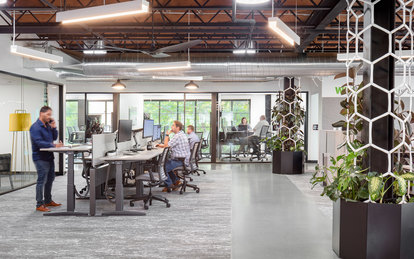 DPR Construction Sacramento Workplace Office Design Interior Architecture SmithGroup
