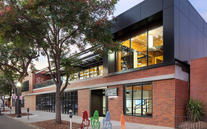 DPR Construction Sacramento Workplace Office Design Exterior Architecture SmithGroup