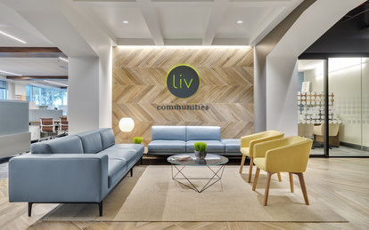Liv Communities Tempe Arizona Architecture office design Interiors SmithGroup