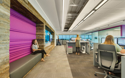Republic Services Phoenix Office Design Interiors SmithGroup Architecture