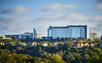 Sharp Healthcare Ocean View Tower Healthcare Architecture Hospital Exterior San Diego SmithGroup