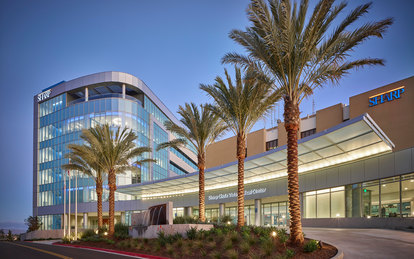 Sharp Healthcare Ocean View Tower Healthcare Architecture Hospital San Diego SmithGroup