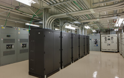 University of Utah Data Center Science and Technology Engineering SmithGroup Salt Lake City Interior