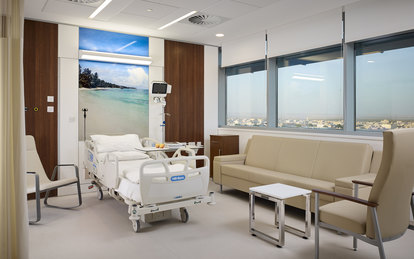 Al Jahra Hospital Kuwait Interior Healthcare Architecture SmithGroup Boston