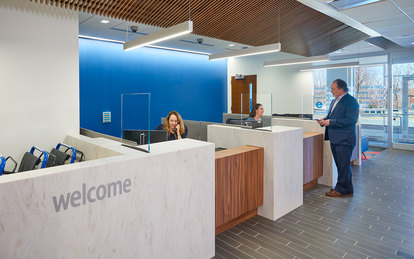 Kaiser Alexandria MOB Healthcare Interiors Washington DC SmithGroup