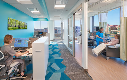 Kaiser Alexandria MOB Interior Healthcare SmithGroup Washington DC