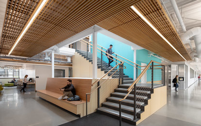 California State University Long Beach Interior SmithGroup Los Angeles Higher Education Architecture