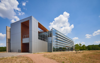 Indiana Toll Road Office Building Exterior Workplace Architecture SmithGroup Chicago