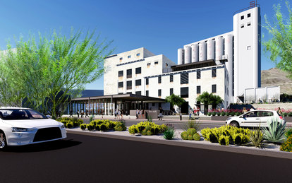 Hayden Flour Mill Redevelopment Tempe Arizona Mixed-Use Hospitality SmithGroup Phoenix