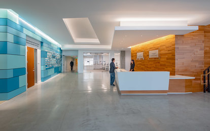 UCSF Wayne and Gladys Valley Center for Vision Workplace Design Architecture San Francisco